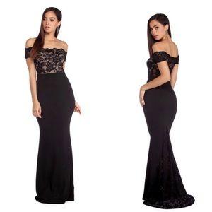 LOLA Windsor dress in MAUVE, Not black